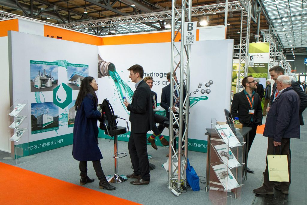 Hydrogenious at Hannover Messe 2016